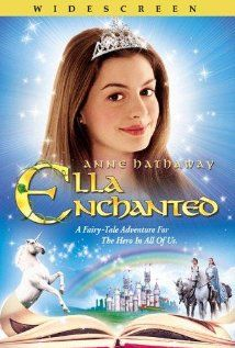 3.5 stars ==> #40 of 50: Ella Enchanted [2004 -- 96min]. DVR. I liked this family version of a fairy tale mixed with a musical. I remember that a friend told me I would enjoy it and they were right. I like Anne Hathaway a lot and Hugh Dancy is pretty cute too!