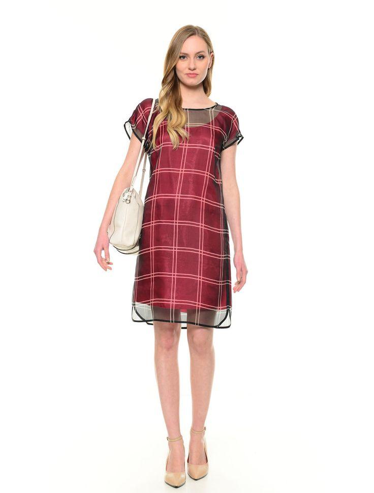 #abito in organza di seta €90 #sanvalentino #diffusionetessile #fashion #moda