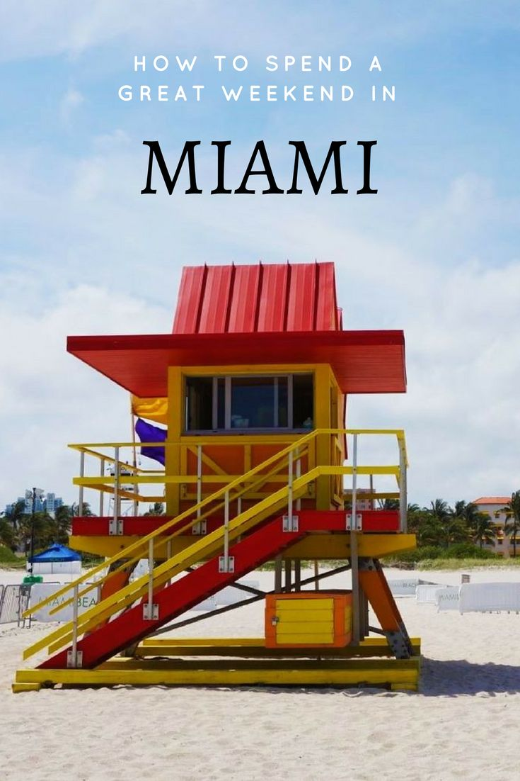 A small guide on how to spend your weekend in #Miami. Things to see and do.