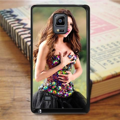 Selena Gomez Singer Beautiful Samsung Galaxy Note 4 Case