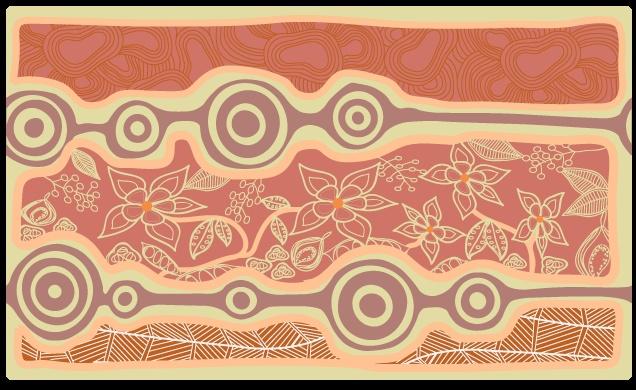2013 Christmas Card Design for #Indigenous organisation in #Brisbane