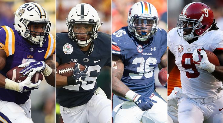 College football said goodbye to a deep class of running backs in the NFL Draft, but the position remains well stocked with talent heading into the 2017 season. A strong group of juniors leads our list of the nation's top 40 running backs.