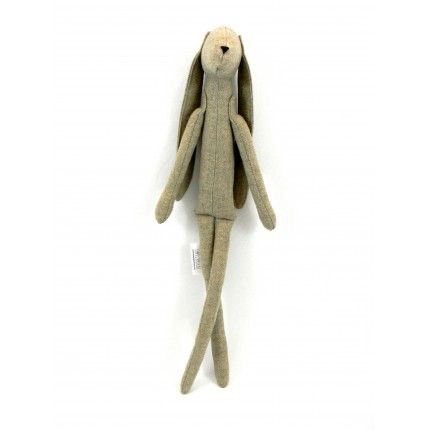 Cream Hare by Simply Made. Nice and pleasant gift with no strings attached! #handmade #gift #hare €29,00