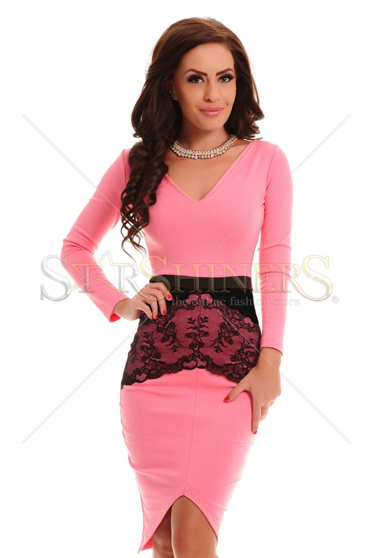 StarShinerS Tenderness Rosa Dress