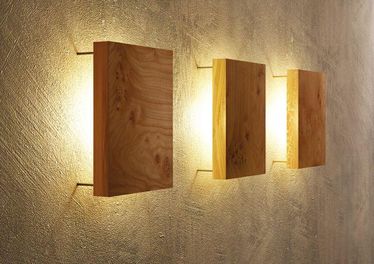 Wandleuchte-Ulme - uniic | Einzigartig in Holz