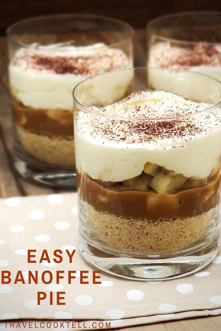 Easy Banoffee Pie  Recipe  yummy 4 tummy  Easy banoffee