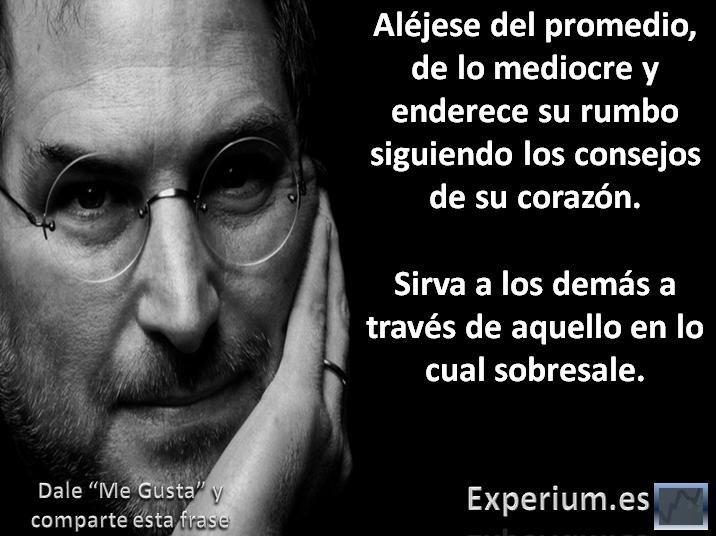 Frases de Steve Jobs.                                                                                                                                                                                 Más