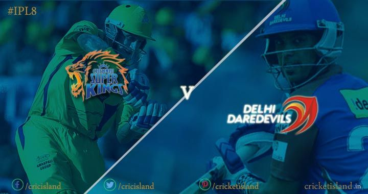 CSK vs DD IPL8 match preview IPL 2015