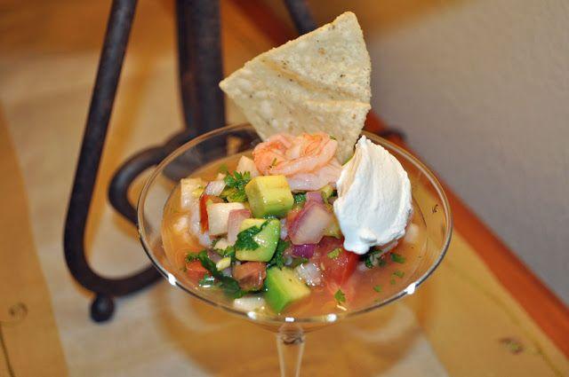 My Cocina, My Kitchen: Shrimp Ceviche