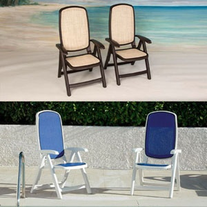 delta reclining high back chair 2pack by nardi