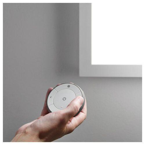 FLOALT LED ljósapanill, þráðlaus 60x60 cm dimmanlegt/hvítt litróf