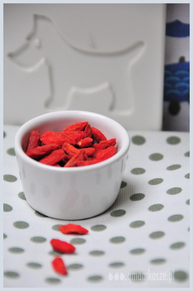 Goji berries - I like that!