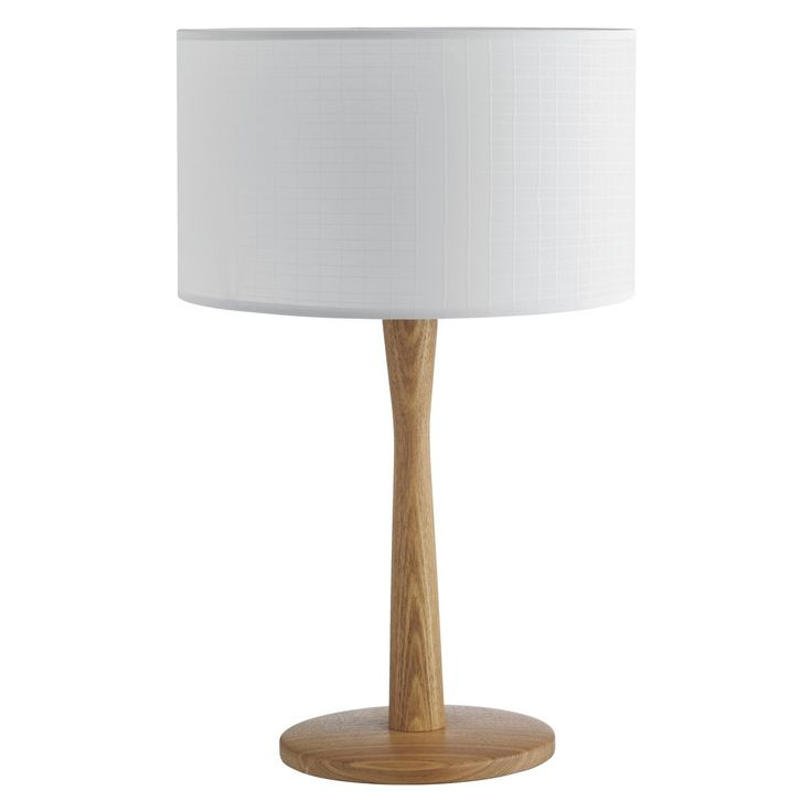 PIP Ash wooden table lamp base