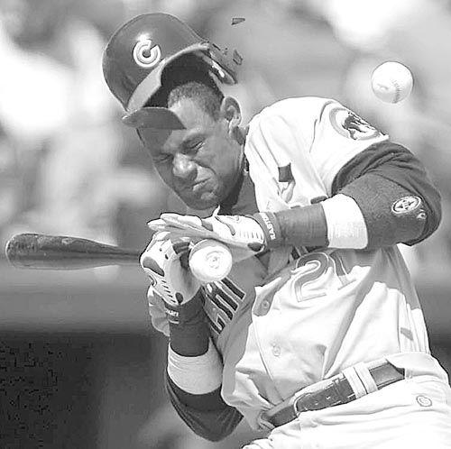Sammy Sosa: steroids, corked bat, lies, skin bleaching.
