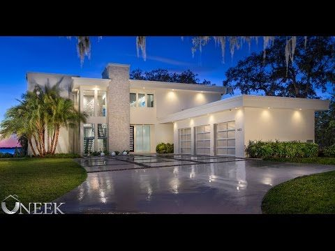5 million dollar modern masterpiece in jacksonville for Modern million dollar homes