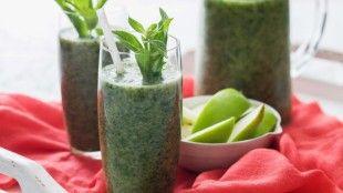 Zelené vegan smoothie
