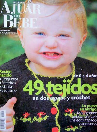 Plena Ajuar del Bebé Nº 14 - Melina Tejidos - Álbuns da web do Picasa