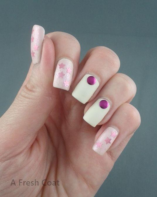 Matte Pink Shimmer