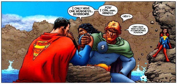 All-Star Superman maxi serie consiste de doce números que aparecieron desde noviembre del 2005 hasta octubre del 2008. Es una sorprendente pero al mismo tiempo muy deprimente historia de Superman. Debido a una degradación celular, el héroe de Krypton, (cuyos niveles de poder no eran poca cosa en este comic), está muriendo lentamente y lucha por completar una lista de tareas que tiene pendientes