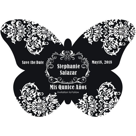 Quinceanera Mis Quince Party Announcement by MainStreetMagnets, $1.00