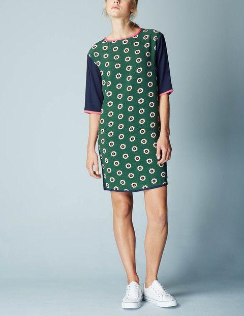 Boden Daisy Colourblock Tunic Dress UK 12R US 8R NWT #Boden #Tunic