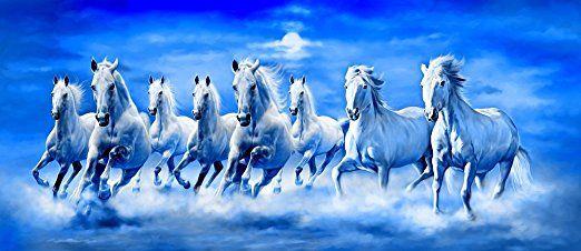 Art Factory Feng Shui Eight Horse Painting