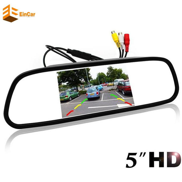 High Resolution HD monitor screen Car Mirror Monitor Pc rear view mirror For Rear / Front view Camera Parking Assistance