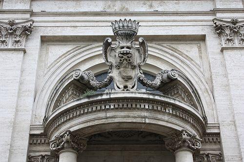 Sant'Andrea al Quirinale Porch (Upper Part)