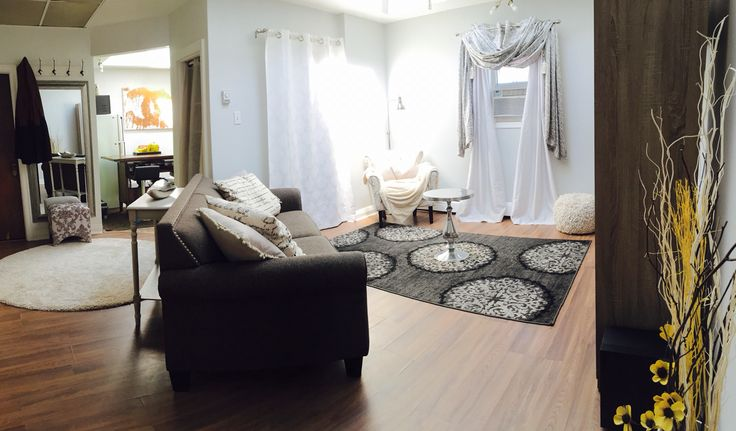 Living Area + Hall Entrance