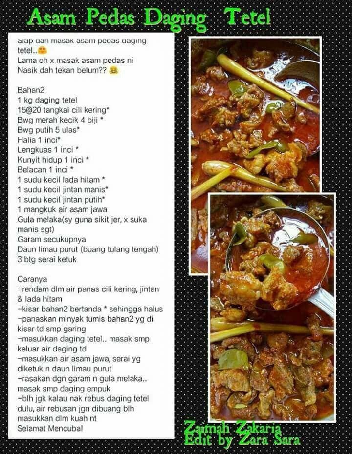 Pin By Nur Syairah On Malayfood Recipes Asian Recipes Food