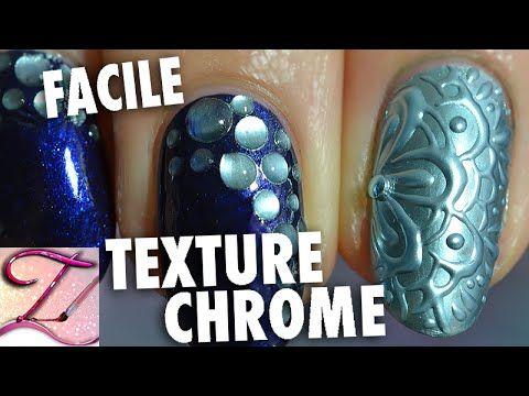 Tuto nail art effet 3D Chrome tendance et bulles faciles en vernis + gel https://www.youtube.com/watch?v=z-kPV5tx8ek&feature=em-uploademail