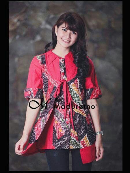 Batik tulis madura, office fashion from Batikmaduretno