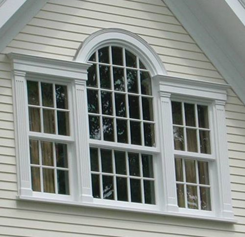 Palladian Window - This type of window is known as the Palladian style of  architecture.