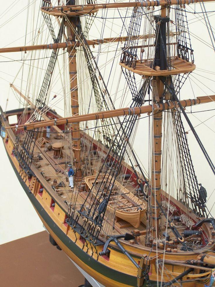 "Ship model ""USS Syren"" brig From http://www.shipmodel.com/   Museum Quality Ship Models ..."