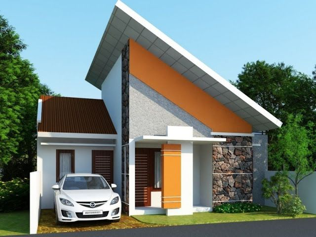 70 Examples Of Simple House Models That Look Luxurious And Modern Dunia Adsense Cool House Designs Simple House Design Modern Minimalist House