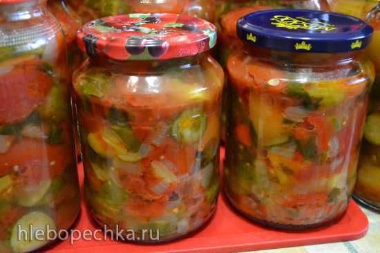 Салат из овощей «Зимний»