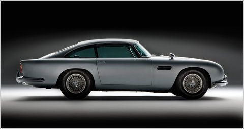 Om nom nom: Aston Martin DB5. The one that Sean Connery drove sold for $4,600,000.