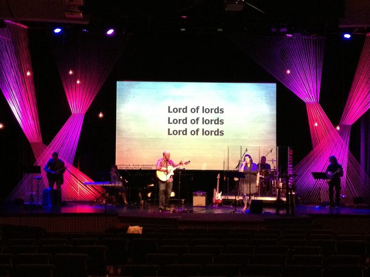church stage fabric | Strung Fabric | Church Stage Design Ideas