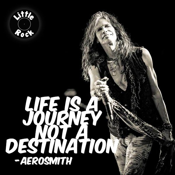 I am a firm believer that if Aerosmith comes on I am in the right place at the right time! It's become a big thing for me drives my hubby crazy!