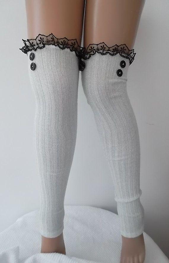 BIG SALE Socks Leg Warmers Boot Socks Women's by CarnavalBoutique,