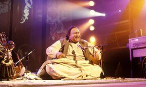 Nusrat Fateh Ali Khan in 1989.