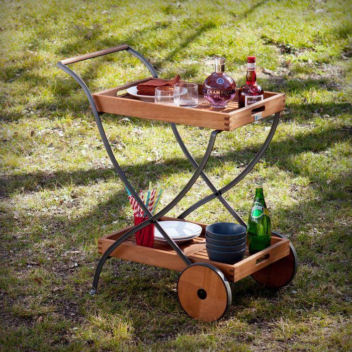 Commonwealth Outdoor Bar Serving Cart   Joss & Main