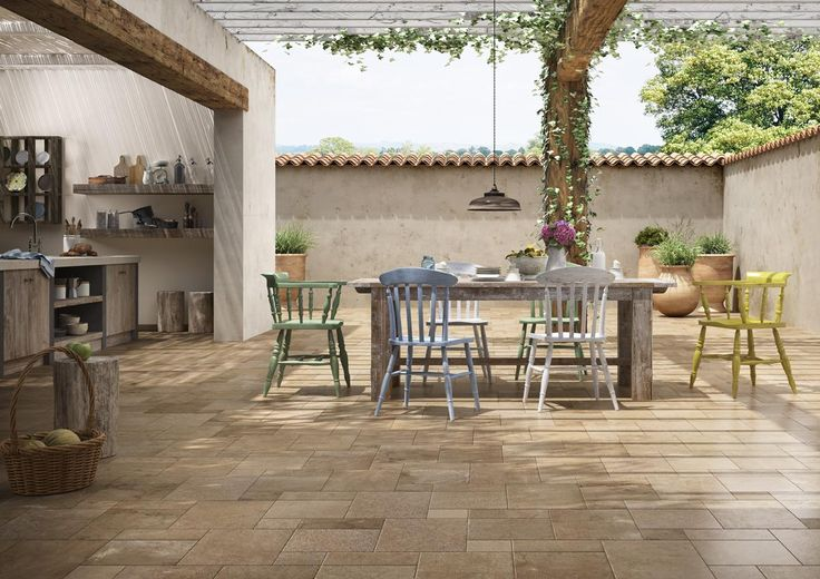 PIASTRELLE HISTORIC, cucina, esterno rustico ceramica gres porcellanato smaltato  http://www.imolaceramica.com/it/prodotti/collezione/historic/