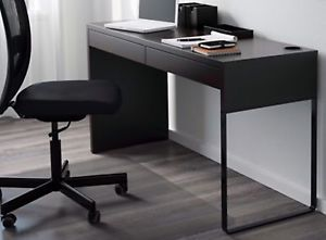 IKEA desk and rolling chair