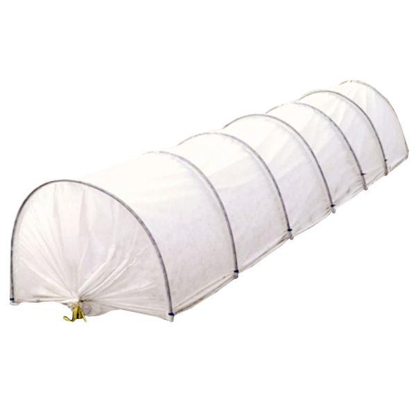 Kweektunnel Bio-Logic Agro Vlies 4m  Zo eenvoudig was het beschermen van uw zaailingen nog nooit! De kweektunnel Bio-Logic Agro Vlies 4m zorgt er namelijk voor dat ongunstige omstandigheden (zoals hagel wind kou en direct zonlicht) uw jonge plantjes geen kwaad kunnen doen. Bovendien staat deze kweektunnel in een handomdraai: u heeft niet eens ingewikkeld gereedschap of veel kracht nodig. Het frame van de kweektunnel is gemaakt van stevig en duurzaam polypropyleen. Dit materiaal is bestand…