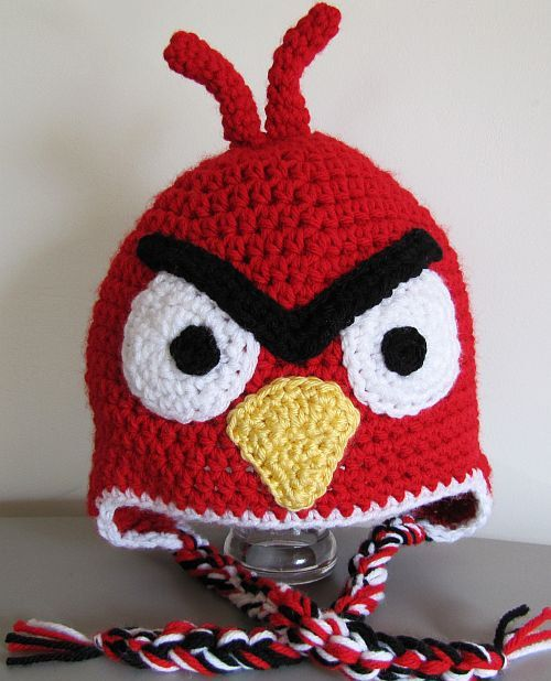Angry bird hat adult size