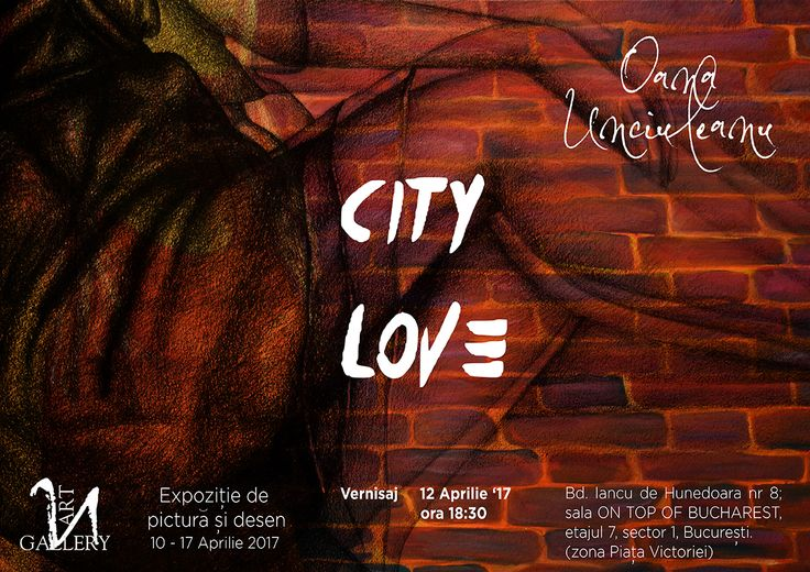 """""""City love"""" painting and graphics exhibition by Oana Unciuleanu  #abstract #acrylic #art #artist #artwork #color #creative #fineart #illustration #myart #onlineart #paint #painting #paintings #wallart #watercolor #artsy #composition #amazing #beautiful #picture #cool #fun #feelingartsy #visualdiary #masterpiece #gallery #inspiration #newartwork #femaleartist"""