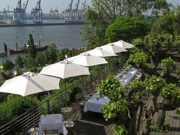 Restaurant mit Elbblick: Das Sterne-Restaurant Le Canard Nouveau