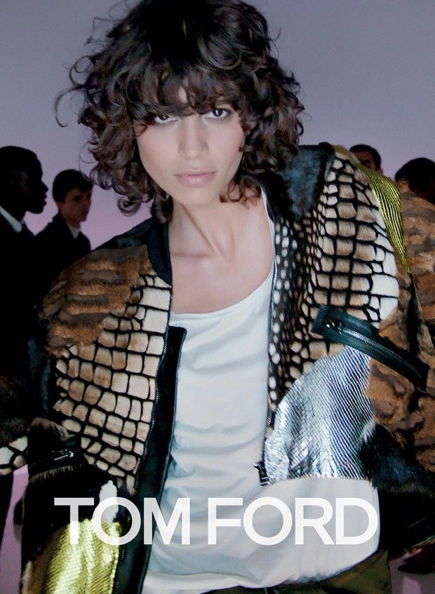 #UnBuenCabezazp: Mica Argañarazl Tom Ford Spring Summer 2016 ad campaign shot by Nick Knight in Los Angeles  [campaign]