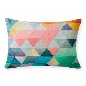 Static Diamonds Cushion